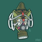 Daily Creation: Galaxy Dunk Gas Mask