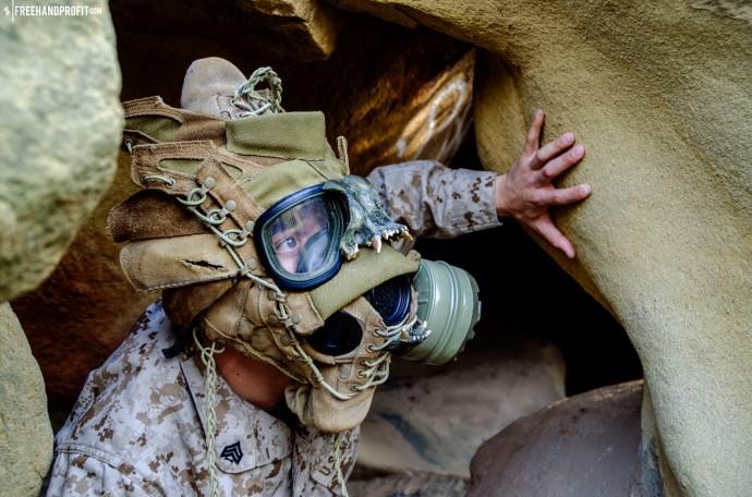 WEB 050 USMC Combat Book Gas Mask 07