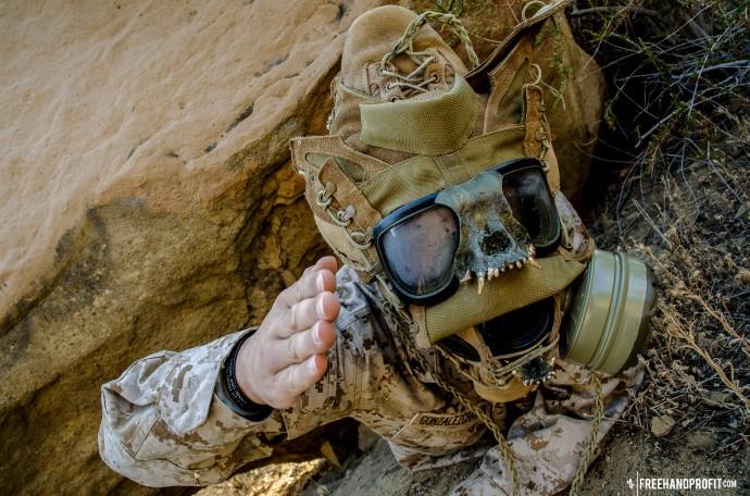 WEB 050 USMC Combat Book Gas Mask 10