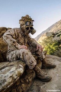WEB 050 USMC Combat Book Gas Mask 11