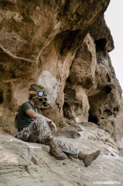 WEB 050 USMC Combat Book Gas Mask 12