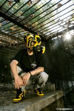 The Freehand Files: No. 51 Black & Yellow Dunk Gas Mask