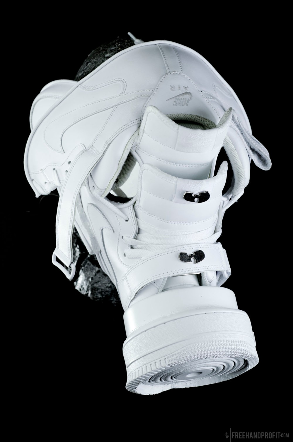 White Air Force 1 Gas Mask by Freehand Profit