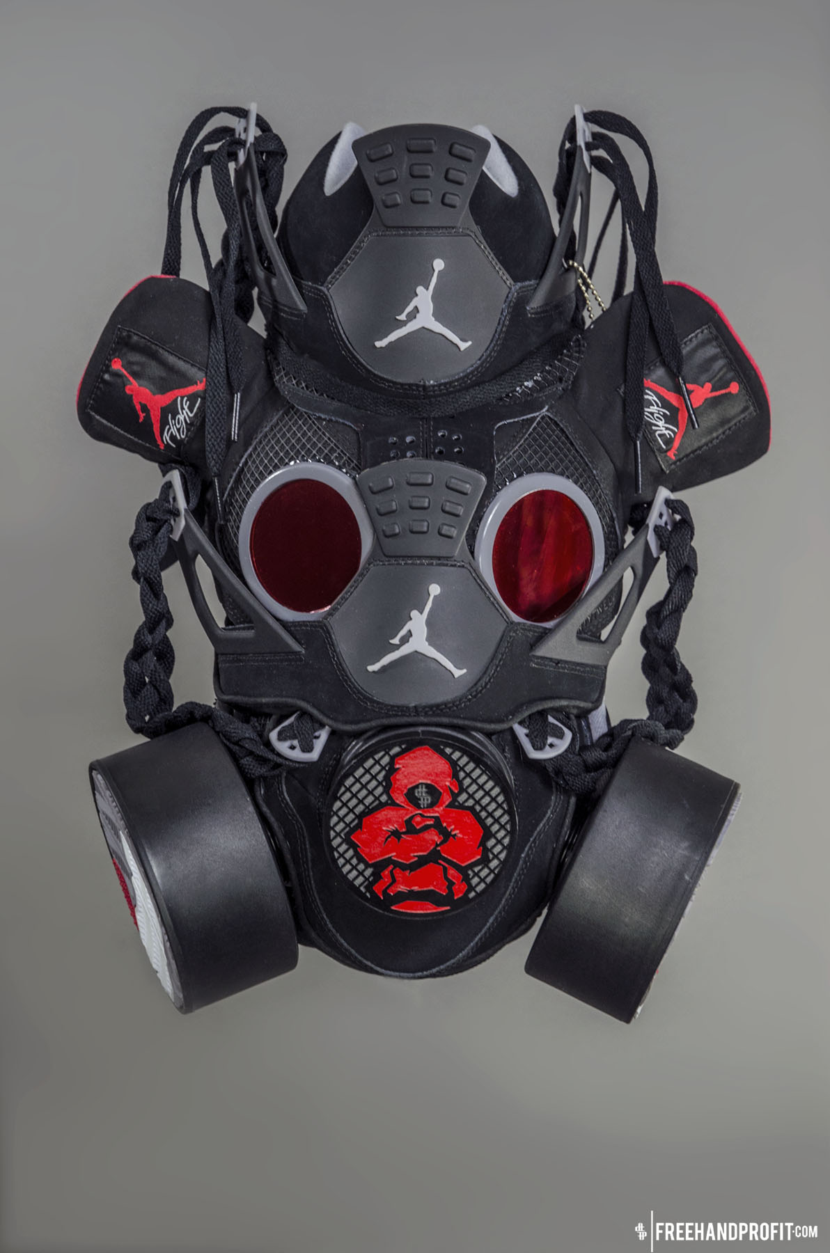 """in stock 62561 0f09d Jordan """"Black Cement"""" IV Gas Mask by Freehand Profit"""