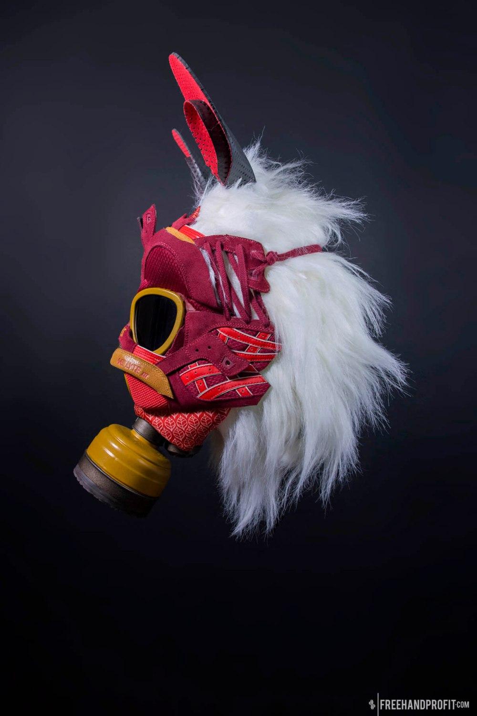 "Asics Gel Lyte III ""Princes Mononoke"" Gas Mask by Freehand Profi"