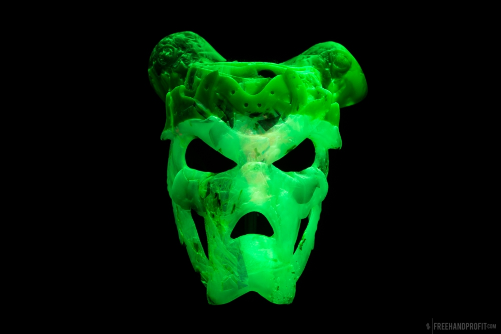 Kryptonite Jordan 1 Mask by Freehand Profit