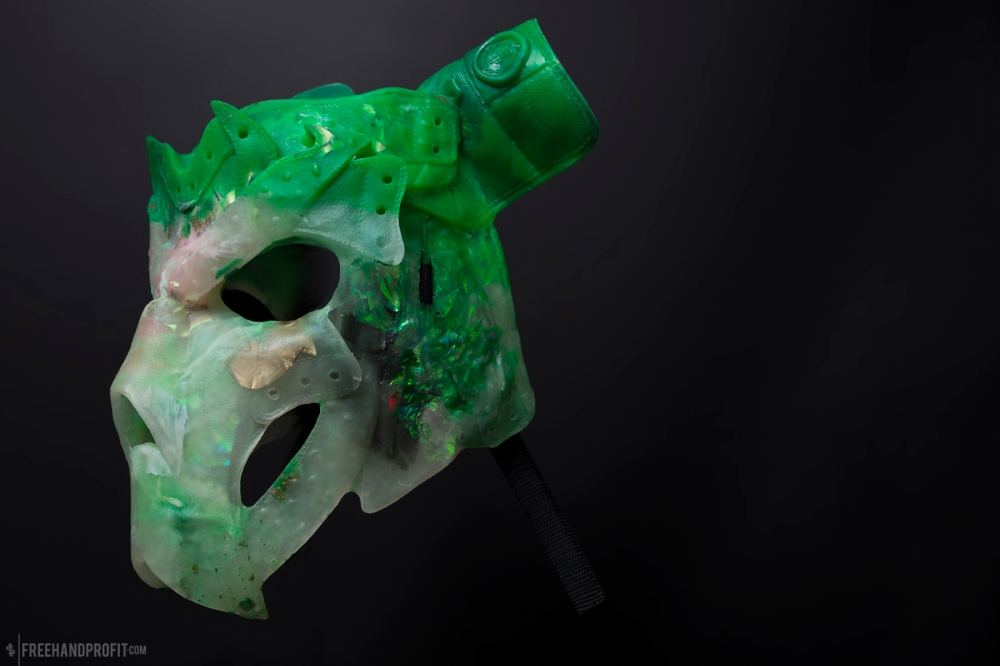 Kryptonite Jordan 1 Mask by Freehand Profit