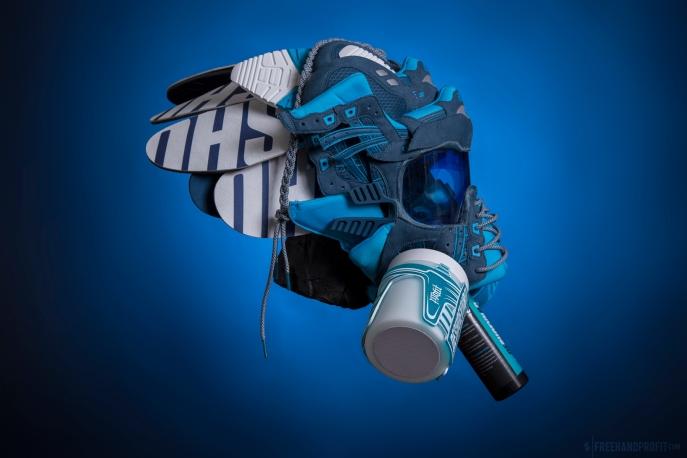 WEB 128 Reshoevn8r Asics Gel Lyte III Gas Mask 07