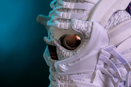 106a990160ef The 133rd sneaker mask created by Freehand Profit. Made from 2 pairs of adidas  EQT