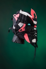 The 137th sneaker mask created by Freehand Profit. Made from 2 pairs of adidas EQT Support Ultras. Find out more about the work on FREEHANDPROFIT.com. On display at adidas SOHO 3/2017!