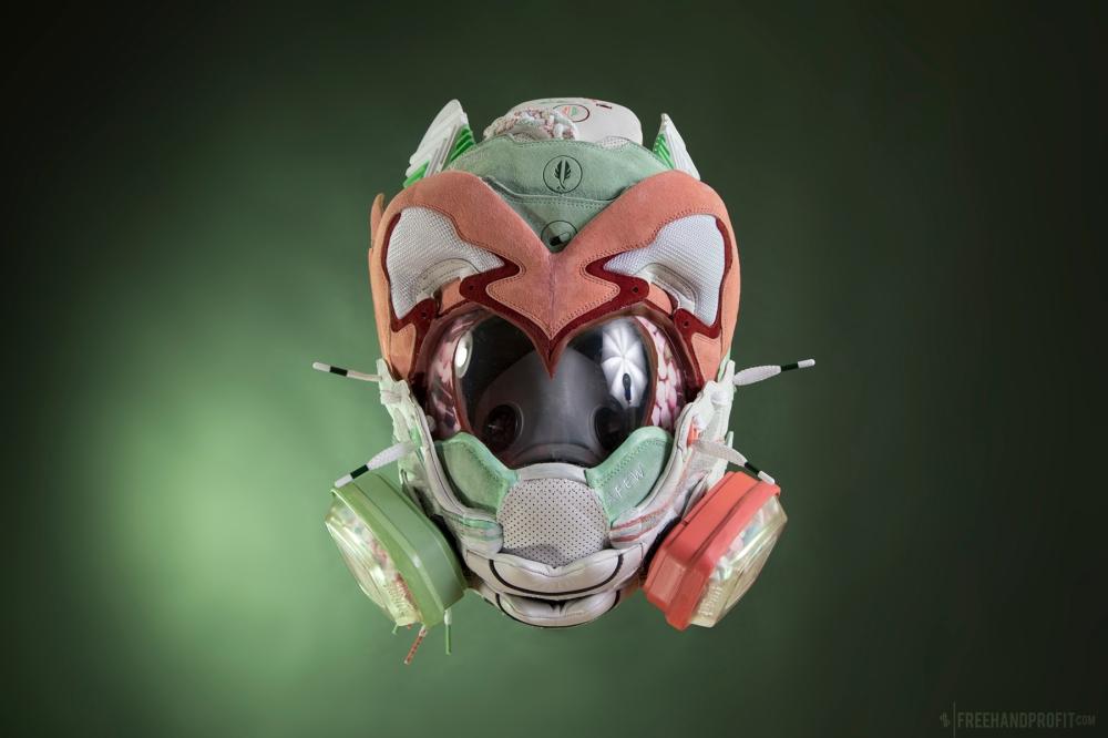 AFEW x Diadora V.7000 Gas Mask by Freehand Profit