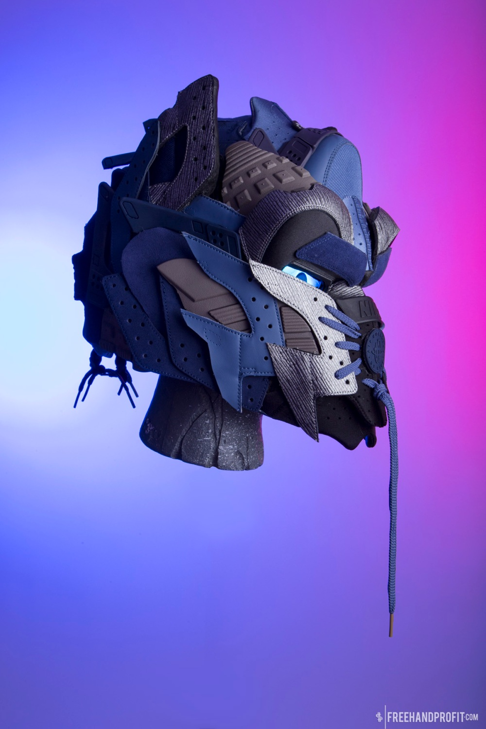 Huarache Optimus Prime Helmet by Freehand Profit