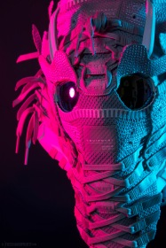 The 153rd sneaker mask created by Freehand Profit. Made from 3 pairs of adidas EQT ADV PK. Find out more about the work on FREEHANDPROFIT.com.
