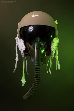 WEB 155 SF-AF1 Olive FLight Helmet 03