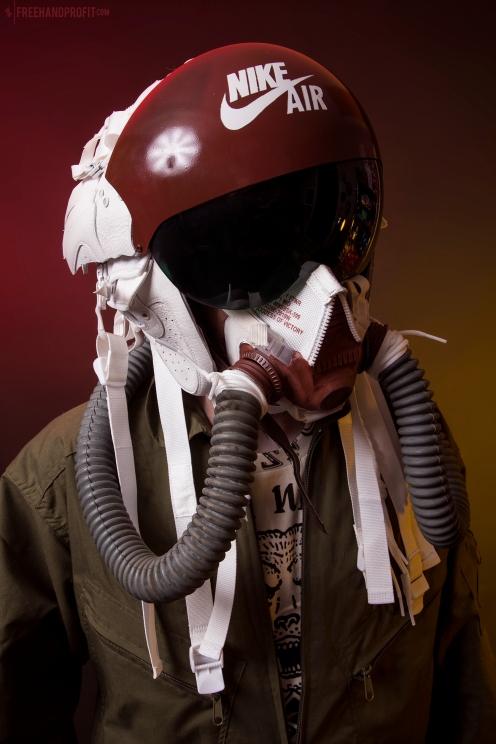 Ivory/Mars SF-AF1 Flight Helmet