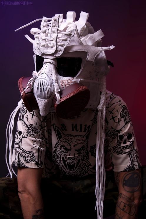 Ivory/Mars SF-AF1 Gas Mask