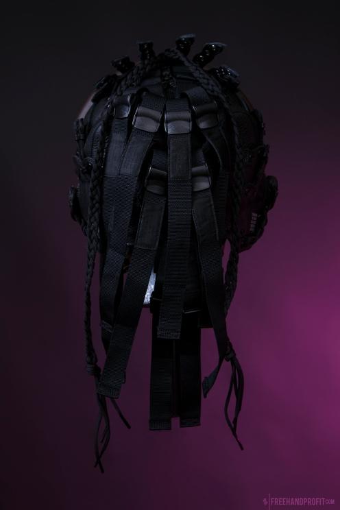 WEB 159 SF-AF1 Black Hazel Flight Helmet 01