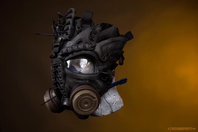WEB 159 SF-AF1 Black Hazel Gas Mask 04