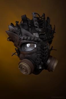 WEB 159 SF-AF1 Black Hazel Gas Mask 05