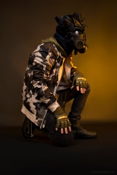 WEB 159 SF-AF1 Black Hazel Gas Mask 07