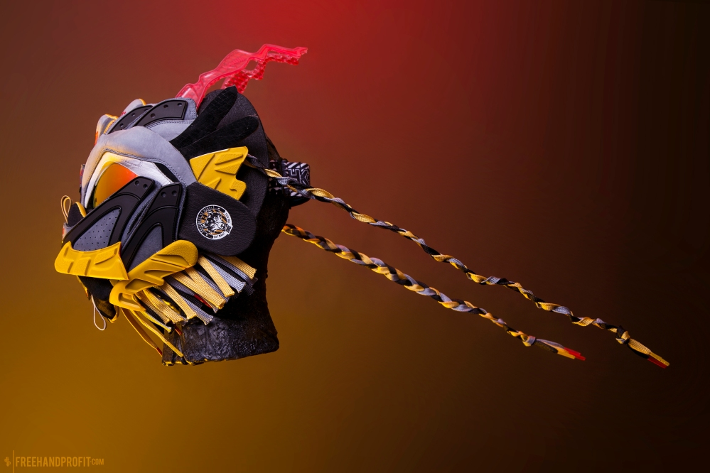 PUMA x BAU Blaze of Glory Mask by Freehand Profit