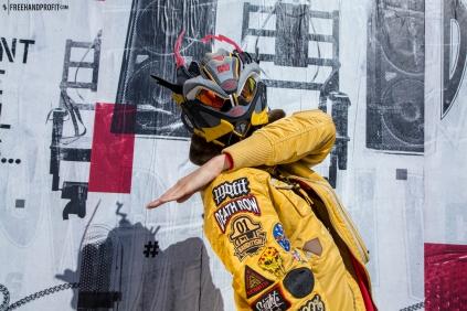 PUMA x BAU Blaze of Glory Mask by Freehand Profit