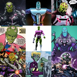 Just a few of the other Brainiac incarnations.