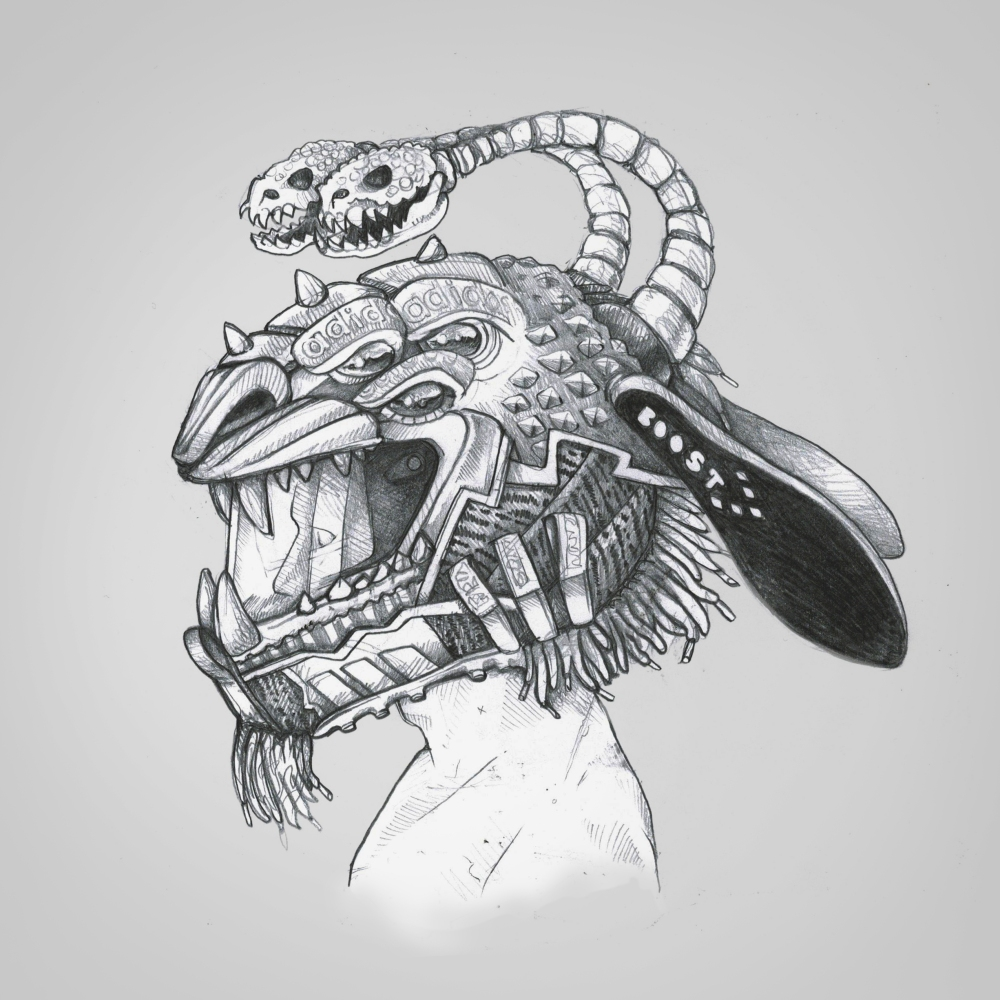 Freak Mask Chimera sketch