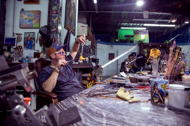 WEB Joe P Glass At Work 003