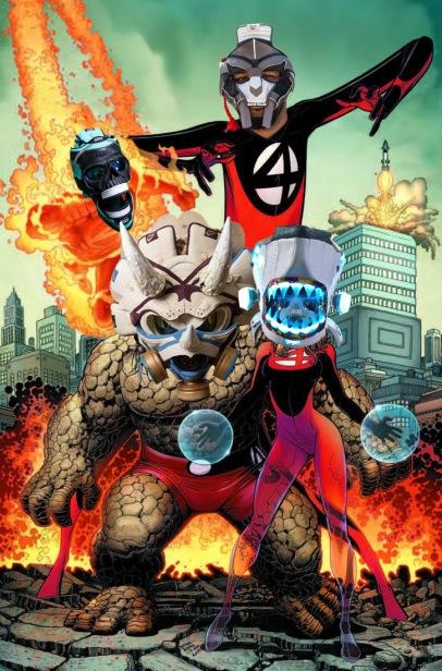 Kyles Fantastic Four Masks
