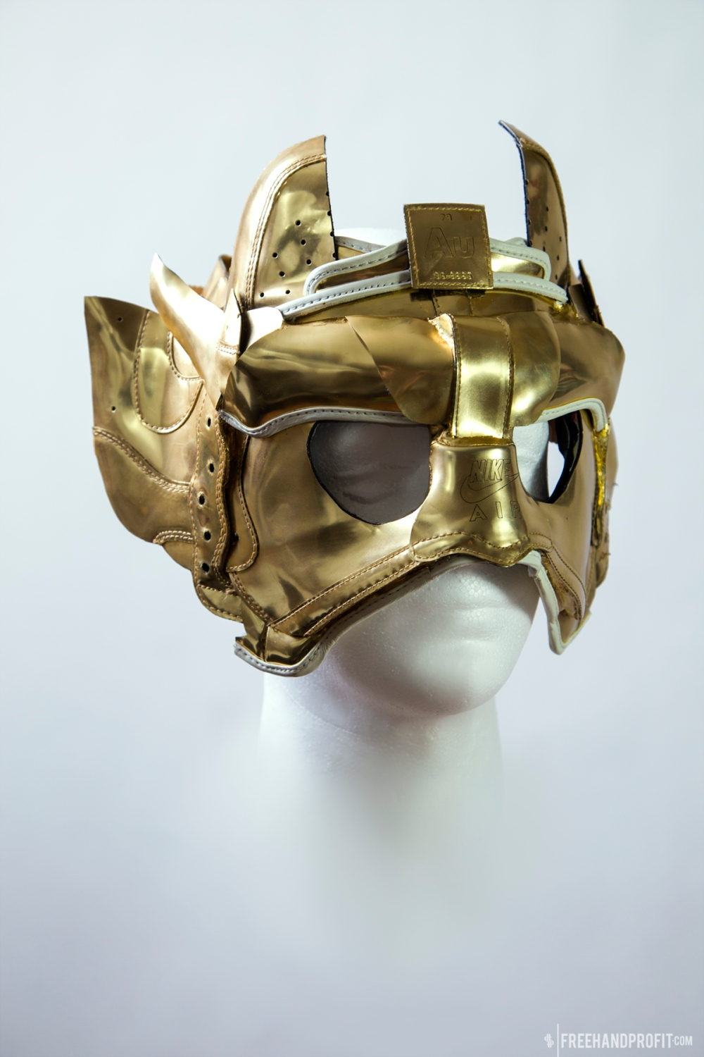 Liquid Gold AF1 Masks by Freehand Profit