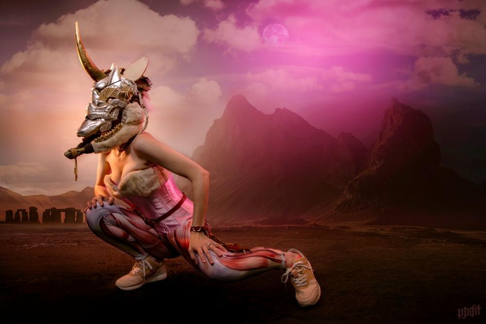 Asics Gel Lyte III Gold Unicorn Mask by Freehand Profit