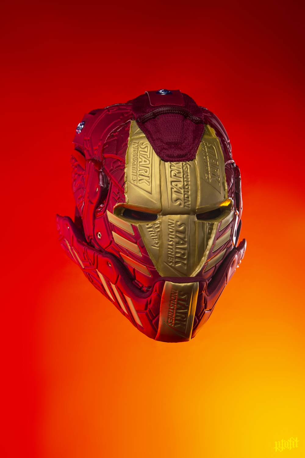 Iron Man sneaker mask by Freehand Profit